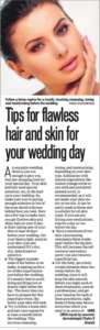 Tips for flowless hair and skin for your wedding day - Hindustan Times