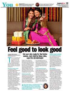 Feel good to look good – Bangalore Mirror