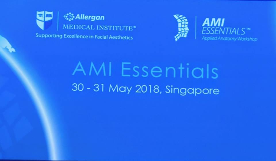 AMI Essentials, Singapore, 2018