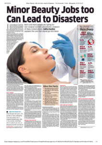 Minor Beauty jobs too can Lead to Disasters Kosmoderma - The Economic Times