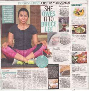 Personal Best Dr chytra anand - Bangalore Mirror