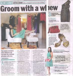 Groom With a Whew - Bangalore Mirror