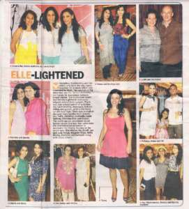 Elle-Lightened - Deccan Chronicle , Bangalore Chronicle.