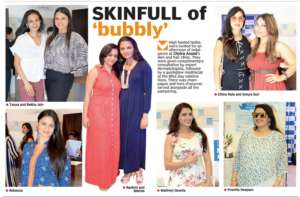 SKINFULL of 'bubbly' - Deccan Chronicle , Bangalore Chronicle.