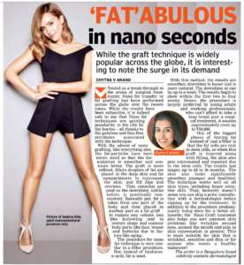 'FAT' ABULOUS in nano seconds- Deccan Chronicle , Bangalore Chronicle.