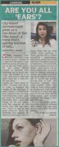 Are You All 'EARS'? - Deccan Chronicle , Bangalore Chronicle.