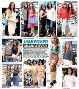 Makeover Changeover - Deccan Chronicle , Bangalore Chronicle.