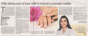 Why taking care of your nails is not just a cosmetic matter - Deccan Chronicle , Bangalore Chronicle.