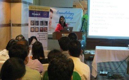 Cosmetology Workshop , Kolkata , 2013