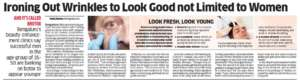 Ironing Out Wrinkles to Look Good not Limited to women