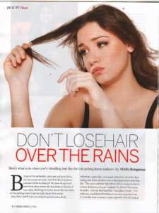 Don't Lose Hair Overs The Rains