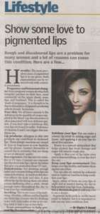 Show Some love to pigmented lips - The New Indian Express , City Express