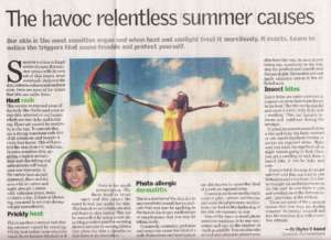 The havoc relentless summer causes -  The New Indian Express , City Express