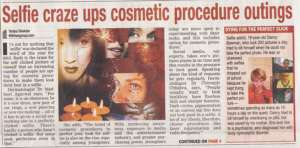 Selfie craze ups cosmetic procedure outing - Times of India
