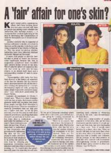 A fair affair for one's skin ? - Times of India