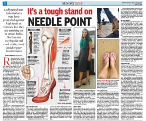 It's a tough stand on Needle Point - Times of India