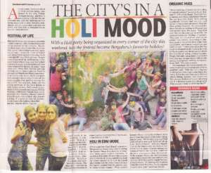 The city in a Holi Mood - Times Of India