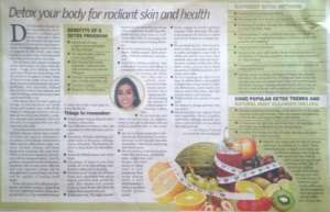 Detox your body for radiant skin and health - City Express