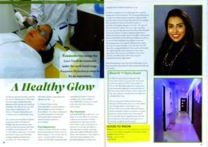 A Healthy Glow - Whats Up Guide - Feb