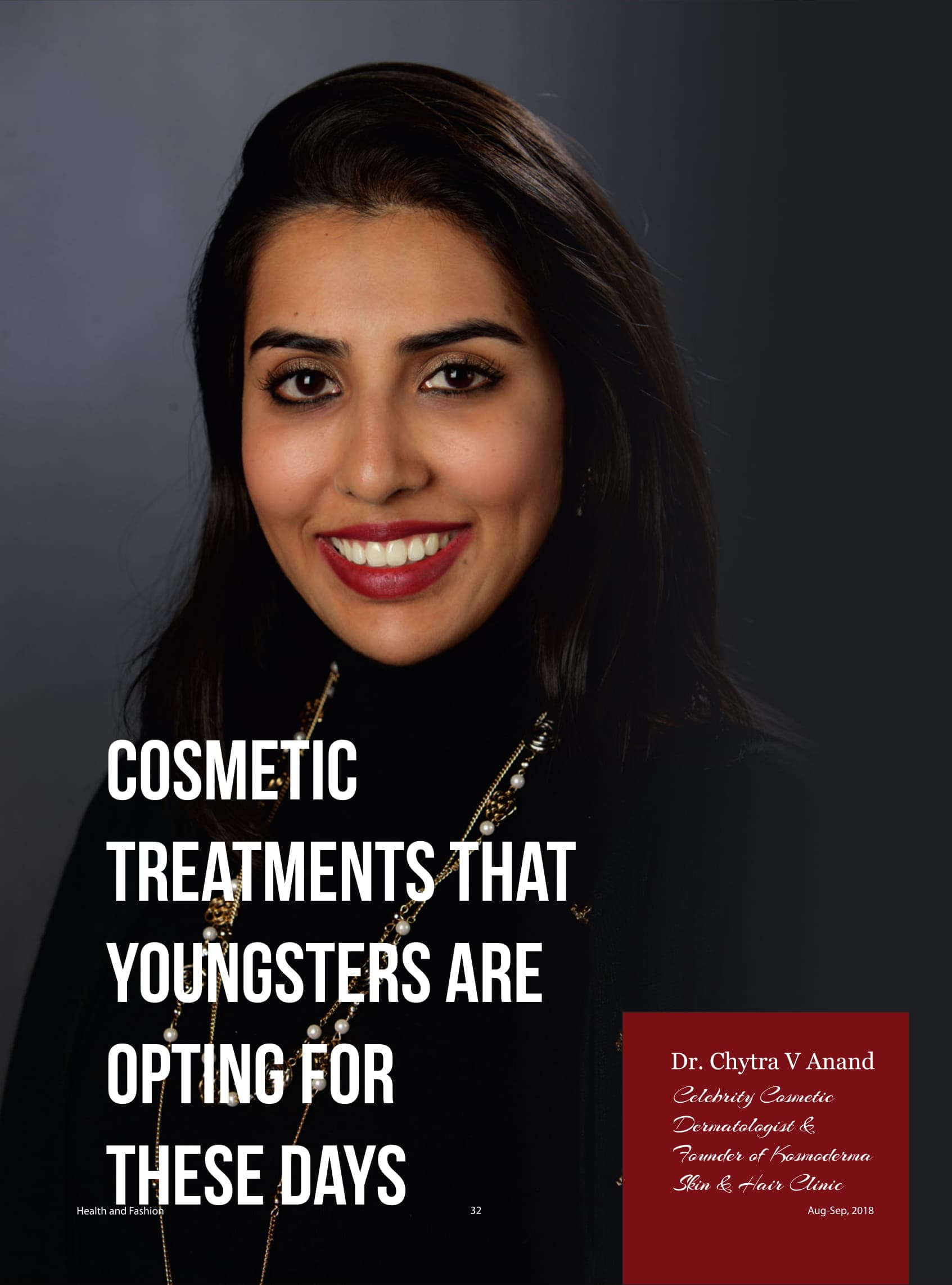 Cosmetic Treatments that Youngsters are Opting for these Days - Health & Fashion Magazine