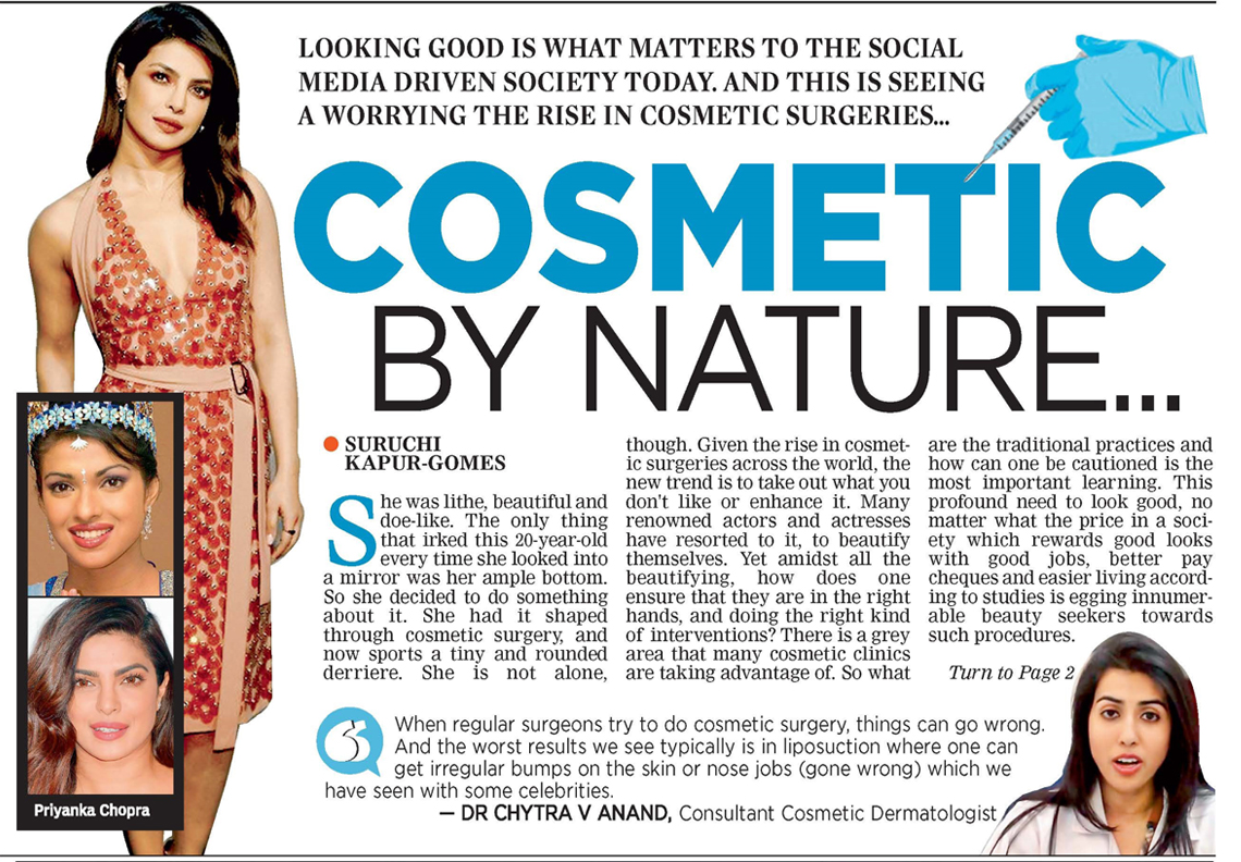 Cosmetic By Nature - DECCAN CHRONICLE