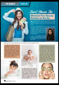 Travel Beauty Tips: Maintain Your Beauty Routine on the Go, Perfect Woman Magazine, 25 March 2019