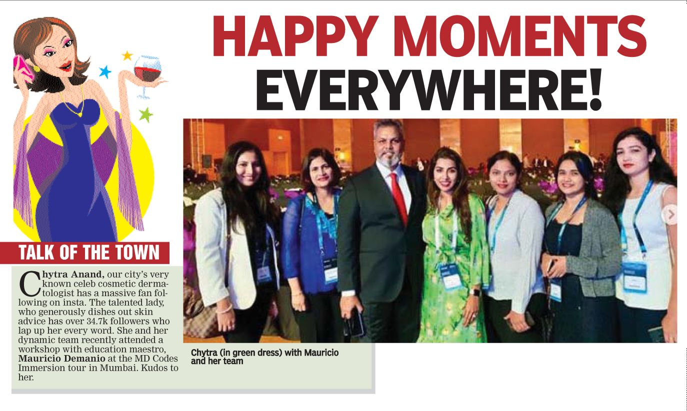 Happy Moments Everywhere , Deccan Chronicle ,  5 July 2019